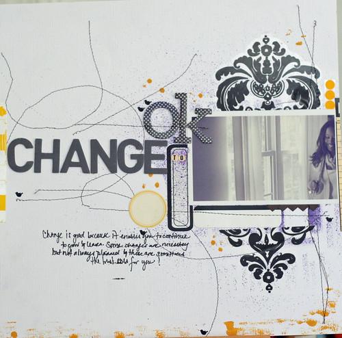 ok to change