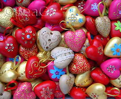 Heart Ornaments Galore (Made by BeaG) Tags: christmas pink red festive hearts fun happy gold design beads sand colorful heart belgium handmade unique painted lot valentine hart colourful sequins valentinesday galore heartshaped decorated kleurrijk christmasornaments vrolijk hartjes beag styropor lotsof feestelijk valentinehearts christmasdesign handmadechristmas christmascrafting creativechristmas heartornaments reliefpaint designedandmadebybeag ontworpenengemaaktdoorbeag craftingforchristmas harthangertjes christmasheartornaments creativechristmasdecoration