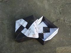 Quadratische Schachtel von Tomoko Fuse (Tagfalter) Tags: origami box tomokofuse