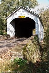 Loux Covered Bridge -12-1 (jwfuqua-photography) Tags: pennsylvania bridges buckscounty mywinners historicareas buckscountycoveredbridges jwfuquaphotography