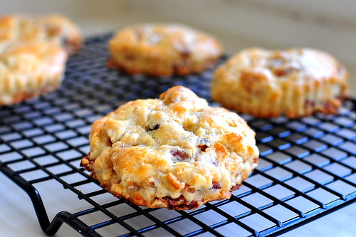 MAPLE BACON BISCUITS