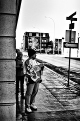 _0012017 (Blacky (just an asshole)) Tags: street camera bw woman guy sidewalk ricoh grd deleteit saveit2 deleteit2 saveit3 saveit1 deleteit3 deleteit4 deleteit5 deleteit6 deleteit7 deleteit8 deleteit9