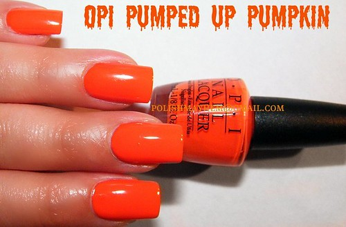 OPI Pumped Up Pumpkin