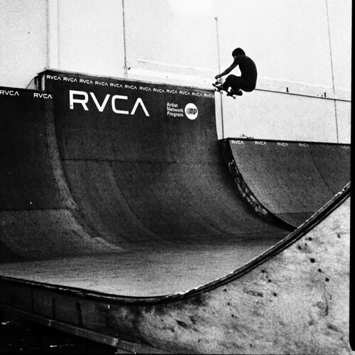 Eric Stalefish RVCA Ramp