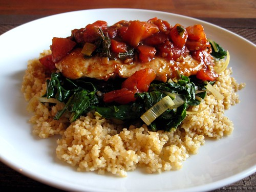 recipe balsamic chicken and spinach