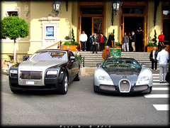 Difference (carspotter13) Tags: 4 ghost rr rollsroyce casino monaco 164 rolls 16 bugatti royce eb combo 1001 veyron bhp