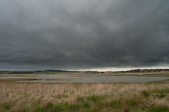 Strom over Cley Marsh