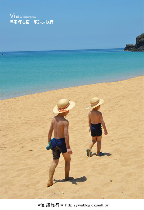 【澎湖沙灘】山水沙灘,遇到菊島的夢幻海灘!22