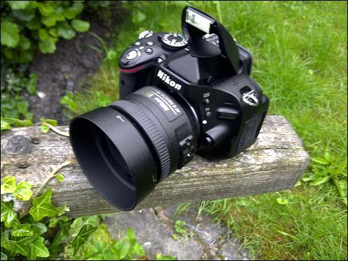 Nikon D5100 35mm f/1.8