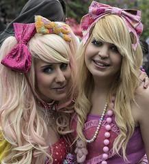 Lovely (jefvandenhoute) Tags: brussels couple belgium belgique belgië bruxelles brussel 2013 lesbiangaypride lesbiangayparade