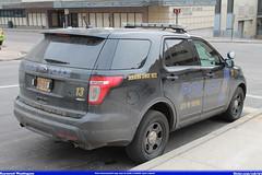 Akron Police Department Ford Explorer #13 (Seluryar) Tags: ohio ford explorer police 13 department akron apd
