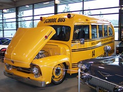 Bell Gardens Restored Bus, John Force (ozfan22) Tags: school bus restore restored drags nhra johnforce foose bellgardens