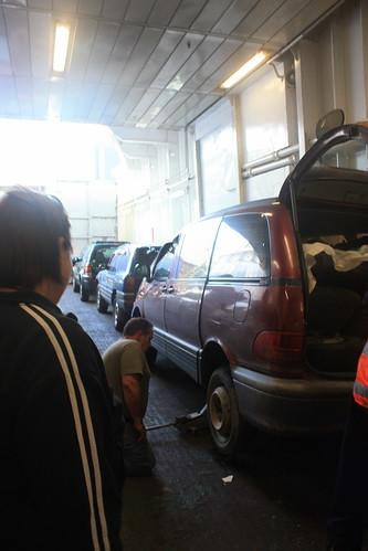 Flat Tire Ferry