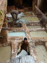 Morocco (kapukur) Tags: morocco medina tannery fs