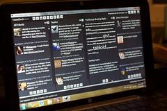 HP Mini and TweetDeck