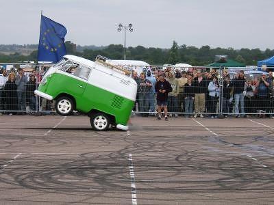 Split Van Wheelie