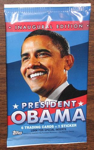 Topps President Obama Trading Cards