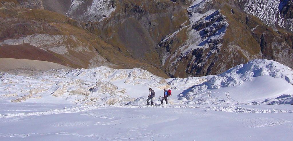 055-Descendiendo por el glaciar