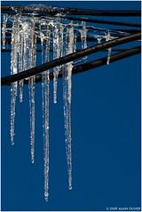 Lignes gelées