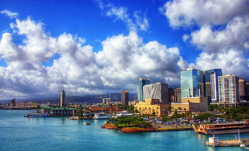 Honolulu Harbor por msgsti217.