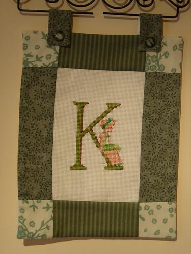 Kit alphabet Lanarte - lettre K