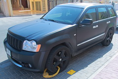 Wanted Mooda (Prince Mooda BB : 2AA36ACF) Tags: black matt jeep prince blocked wanted doha qatar srt8 mooda