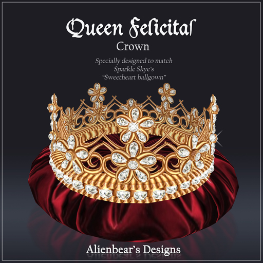 Queen Felicitas Gold Crown