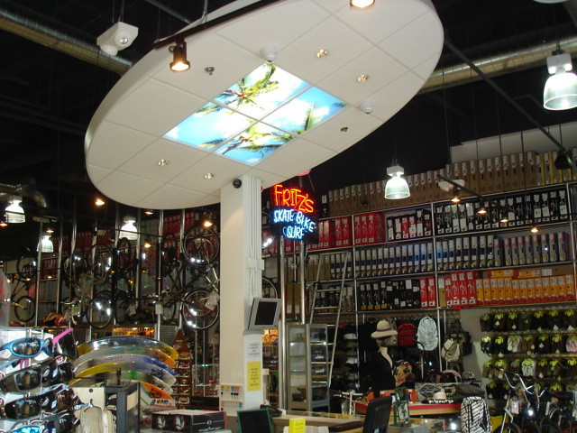 Front counter cloud with sky light by Fritzs Skate amp Surf (123skatecom)