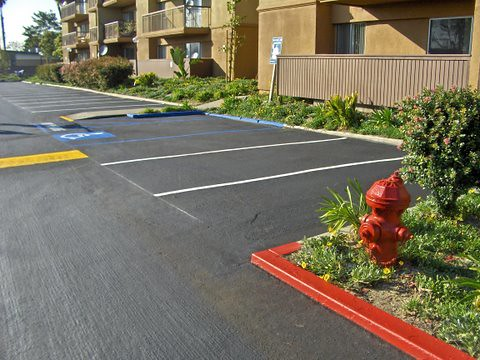 parking lot striping. Parking Lot Striping