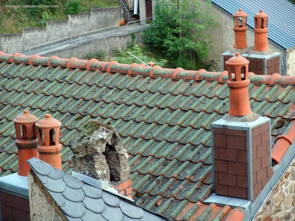 Toits et cheminées