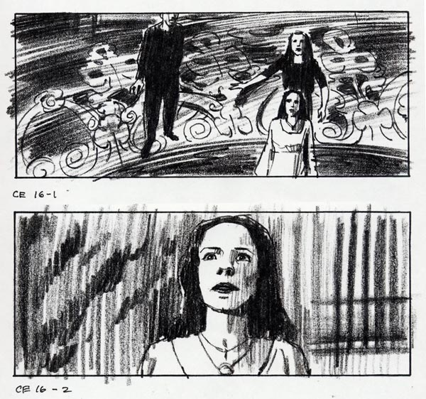 Storyboard Central Tom Watson On The Haunting