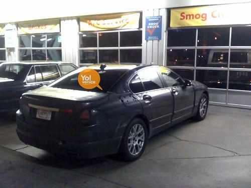 BMW 7 Series test mule 2010