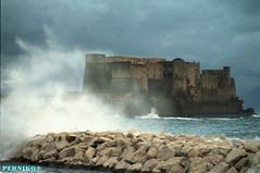 Sea of Naples (PerNiko) Tags: sea mare wind napoli naples vento onde tempesta mareggiata castellodellovo