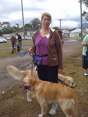 Libby at dog training