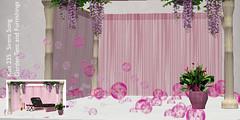 tent sl secondlife cabana valentines kissed gardenfurniture particleeffects vaininc gridwidehunt valentineshunt
