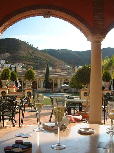 The Grand Hotel, Benahavis por My drink in its location.