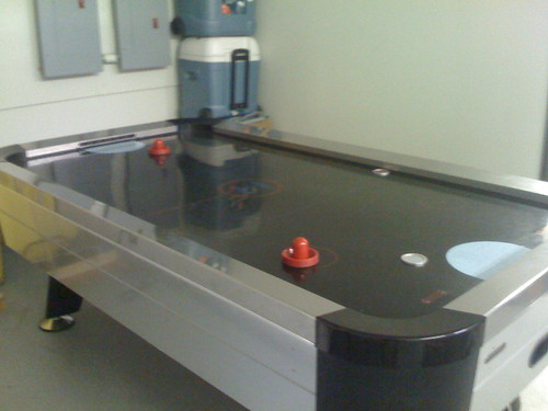 3311998979 827d9c8c13 New Air Hockey Setup