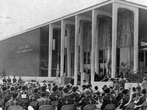 Hermosa Beach City Hall Dedication 1965