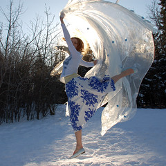 Day 59/365: Here comes the sun (prairieskygal) Tags: winter sun snow jump calendar explore jess 365 gratitude frontpage tulle millcreek littlestories fgr sooc totw 3652009