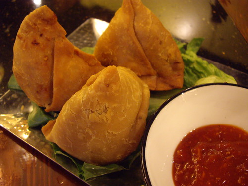 Samose from Bayleaf India Bistro