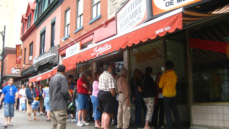 The Line at Schwartz's