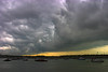 The Day Before Tomorrow (rovinglight) Tags: sky clouds dark evening singapore ominous cliffordpier lpsky