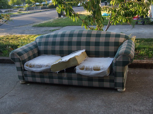 goodbye, old sofa