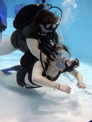 Unconscious Diver