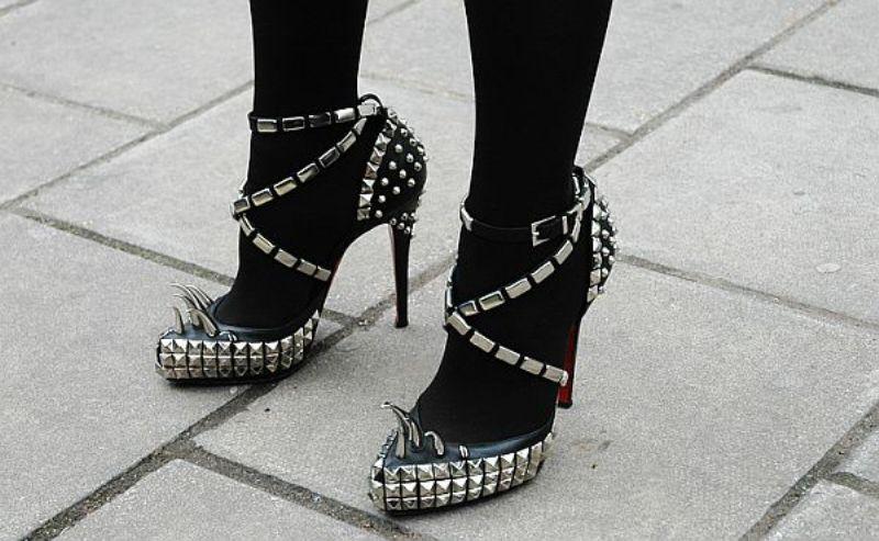 Studded Rodarte Louboutin heels