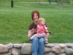 Lilah and Mama