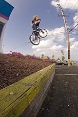 Dave Turndown (MikeMcGowan) Tags: bike canon bmx ride fisheye vivitar 580ex peleng8mmf35 50d 285hv