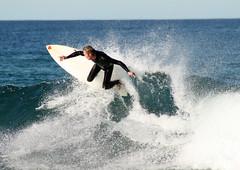 Merewether Beach - 25-07-2009 - (18) (DoctorJ73) Tags: ocean sea sun beach water sport surf board tube wave surfing wash curl photopedia