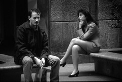 La tristezza... (emilype) Tags: people woman milano tourists donne duomo attimi tristezza panchine piazzaduomo bnvitadistrada sfidephotoamatori sfidephotoamatoriwinner