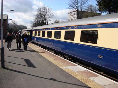 Train Chartering - Mk2 charter train